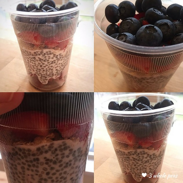 Chia Pudding images with logo
